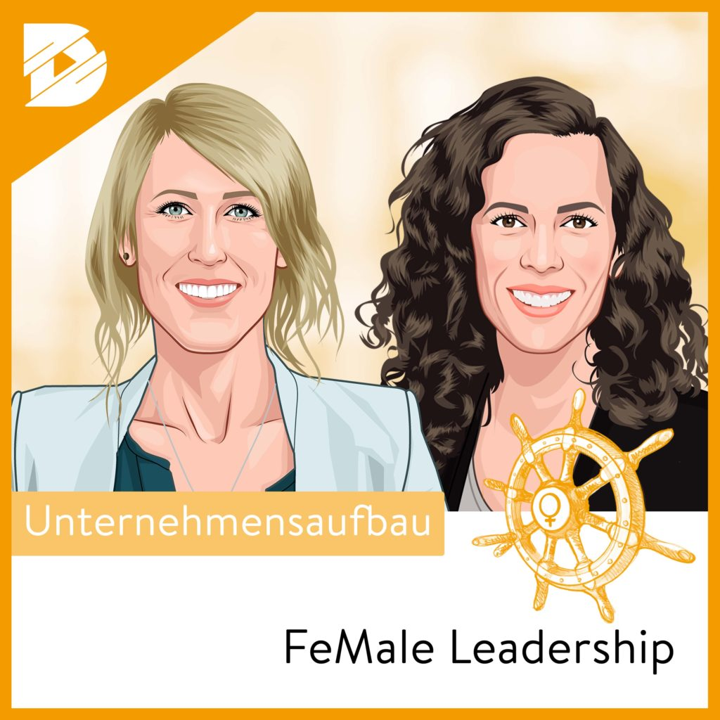 Logo Podcast »FeMale Leadership«