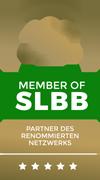 Siegel Member of SLBB, Partner des renommierten Netwerks